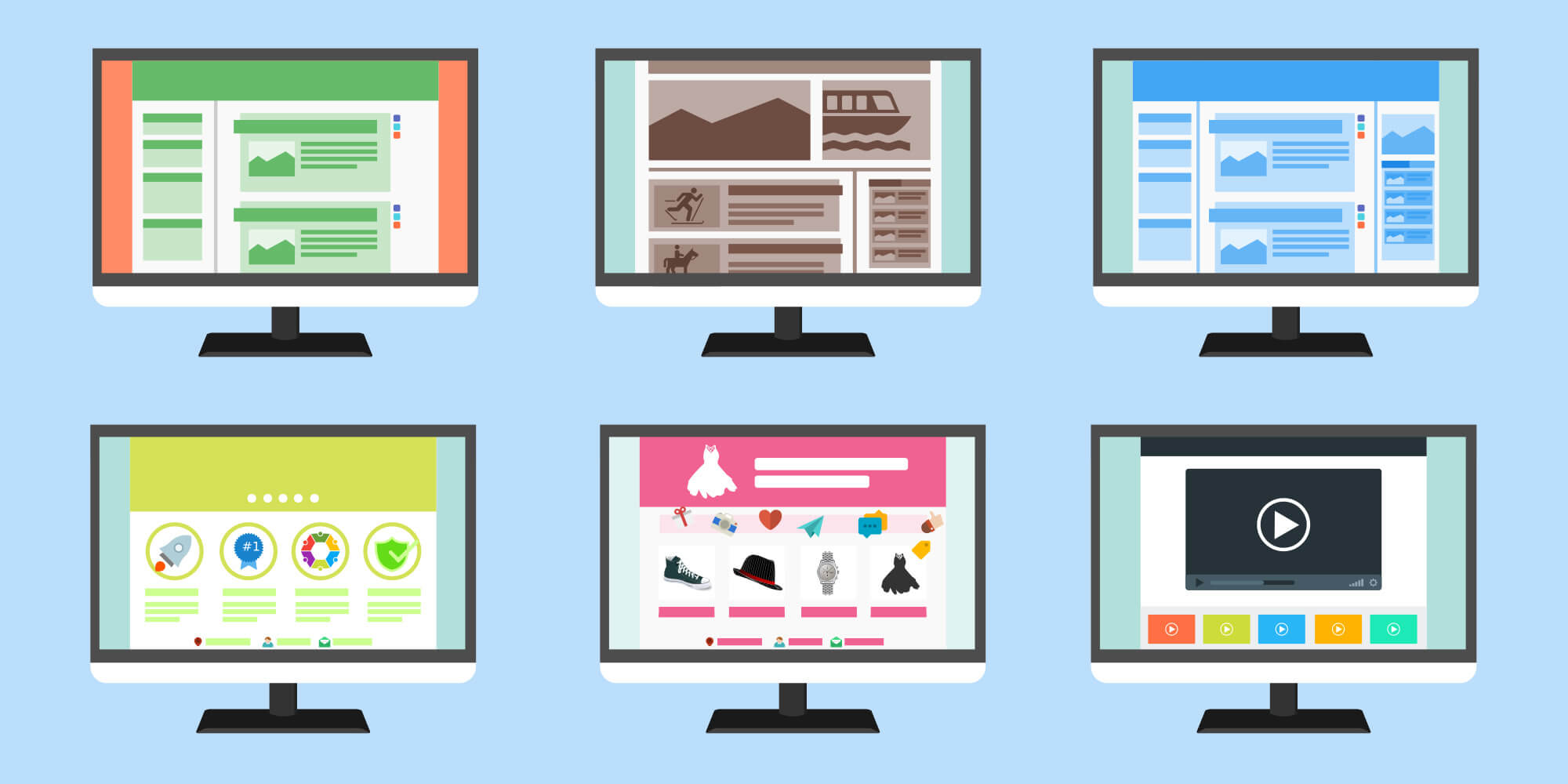 blog separe ou integre au site internet