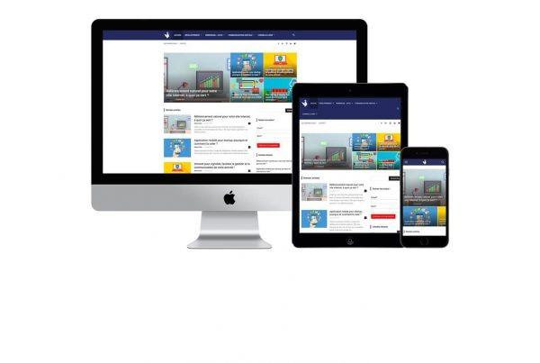 creation site web lewebfrancais